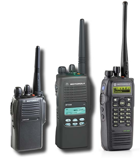 Two way radio rentals